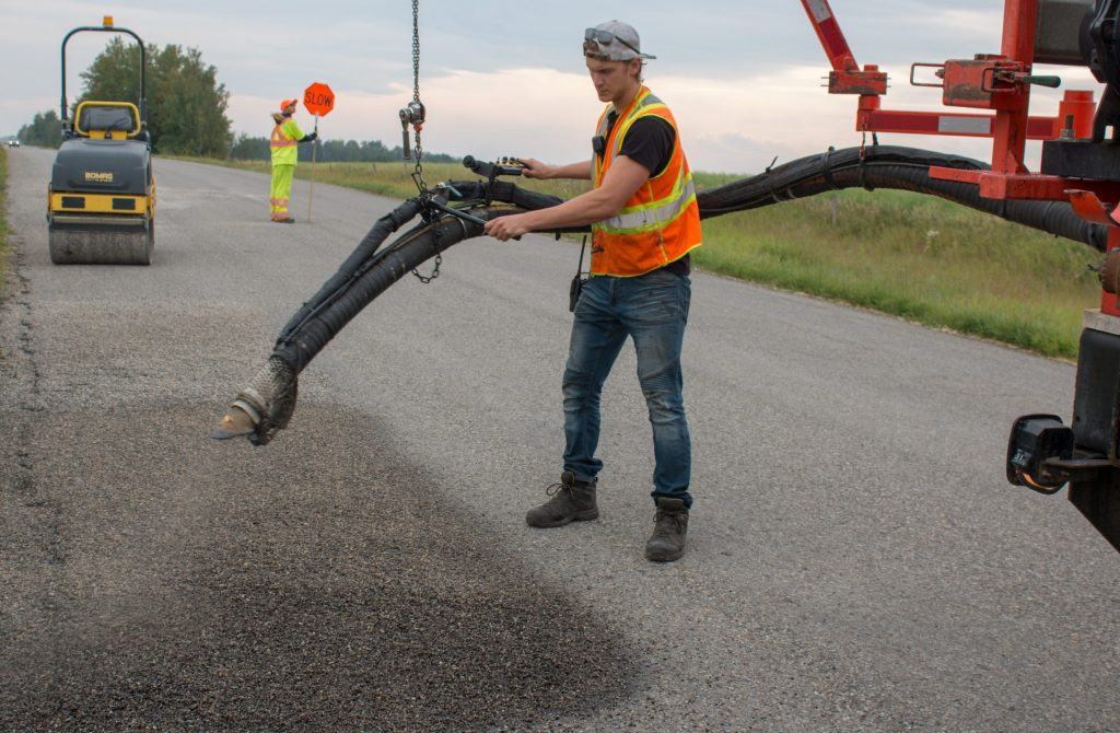 Sonic Asphalt Services - Spray Patching
